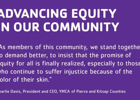 Advancing Equity In Our Community
