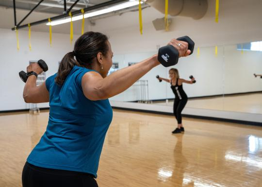 YMCA Cardio Strength Group Exercise Class