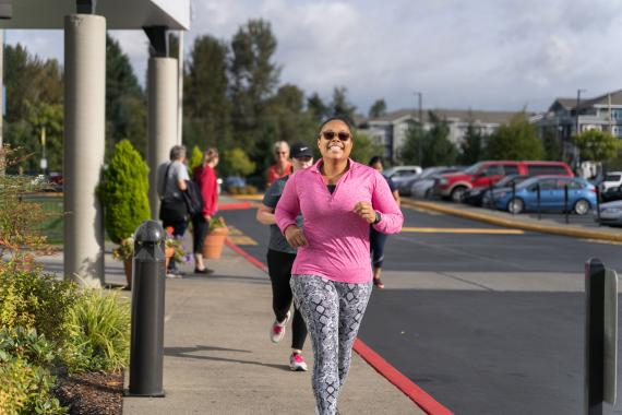 Running At A YMCA Bootcamp