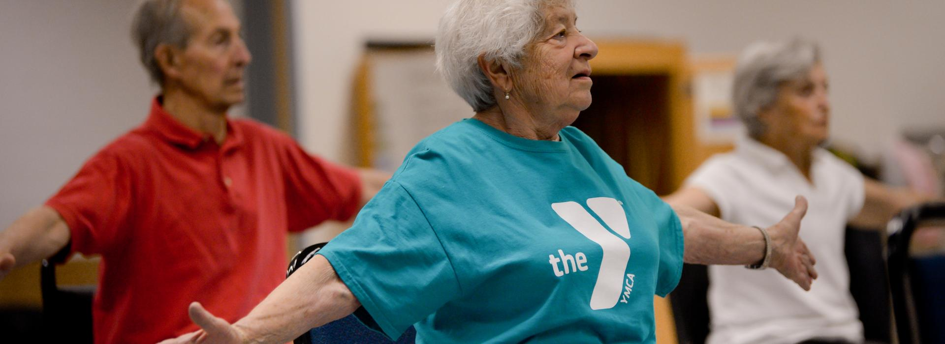 Active Older Adult Chair Yoga